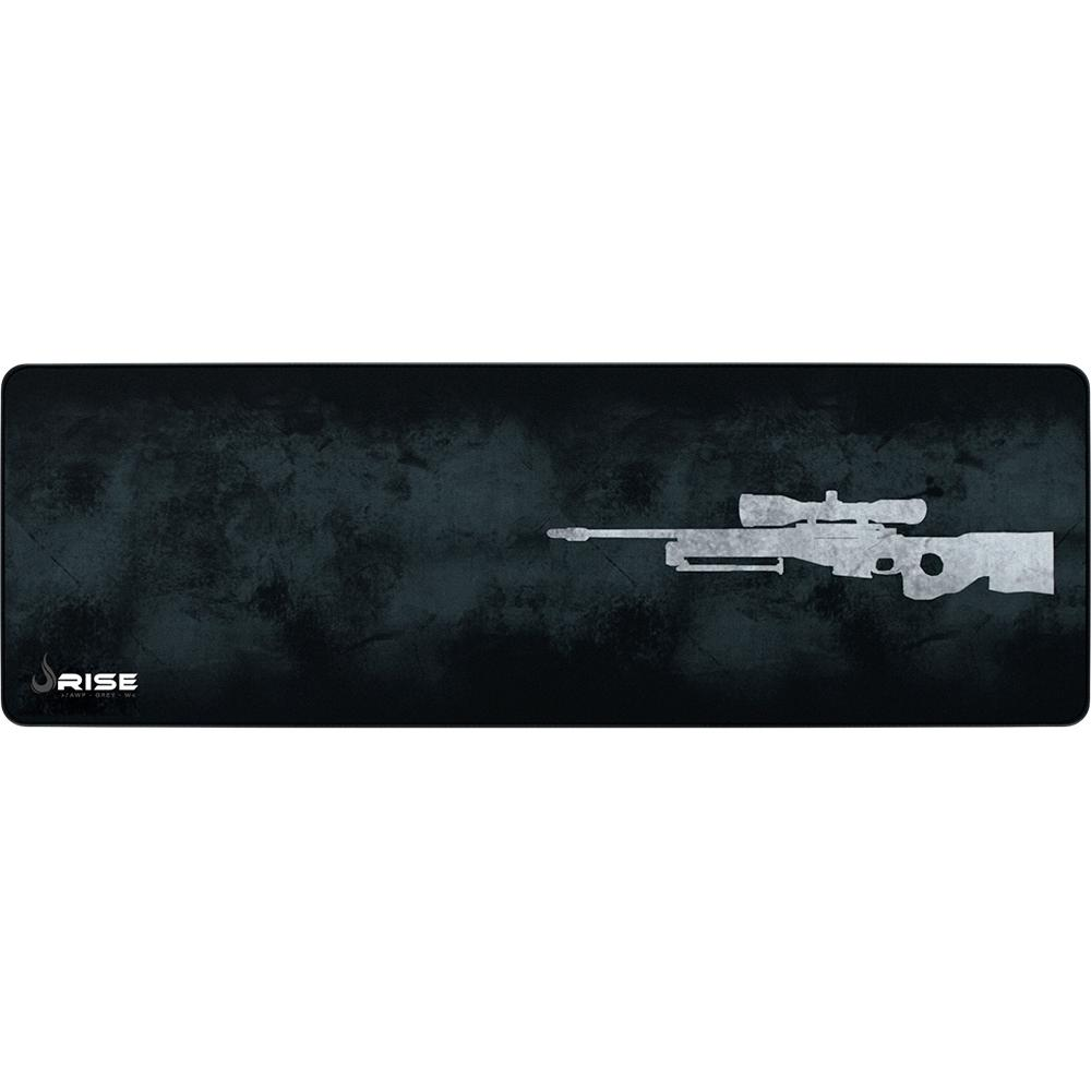 Mousepad Gamer Rise Mode Sniper  Extra Grande (900x300mm) - RG-MP-06-SPG  - Fatality
