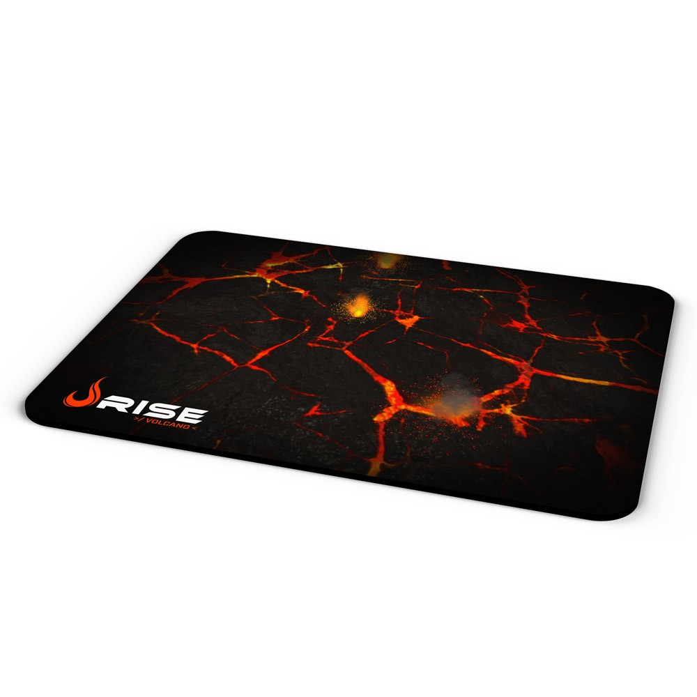 Mousepad Gamer Rise Mode Volcano, Speed, Grande (420x290mm)  - Fatality