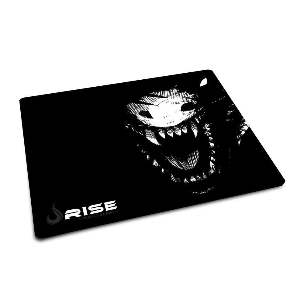 MousePad Rise Gaming Night Beast  com Borda Costurada  - Fatality