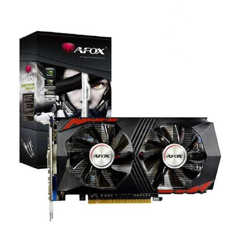 PLACA DE VÍDEO AFOX  GTX750TI 2GB GDDR5- AF750TI-2048D5H5-V7  - Fatality