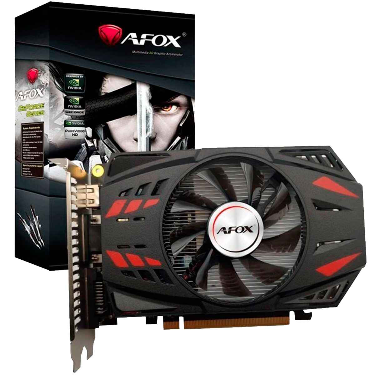 Placa de vídeo  AFOX  GTX 750TI 2GB GDDR5  - Fatality