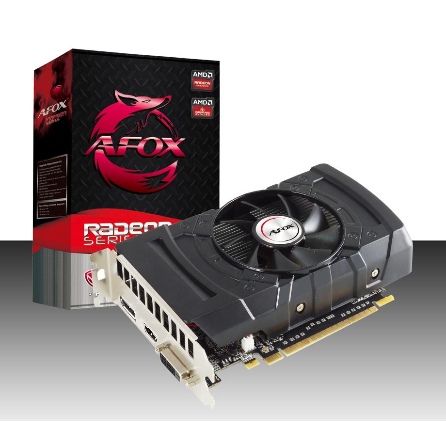 PLACA DE VIDEO AFOX RADEON RX 550 2GB GDDR5 128Bit  - Fatality