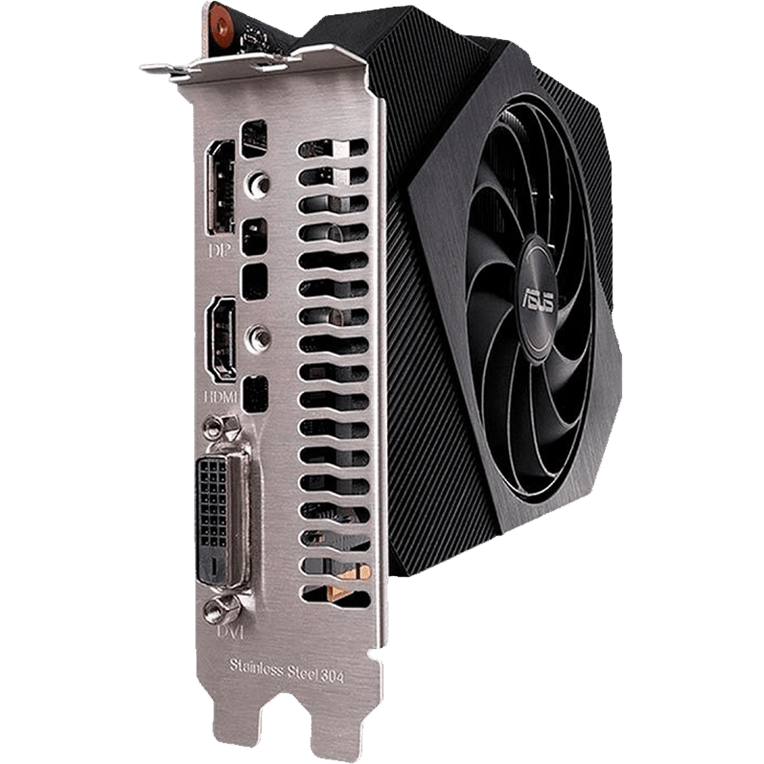 Placa de Vídeo Asus Geforce Gtx 1650 Phoenix OC Edition 4Gb Gddr6 - Ph-Gtx1650-O4GD6-P  - Fatality