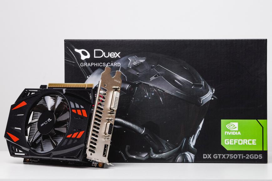PLACA DE VIDEO DUEX GTX 750TI 2GB  - Fatality