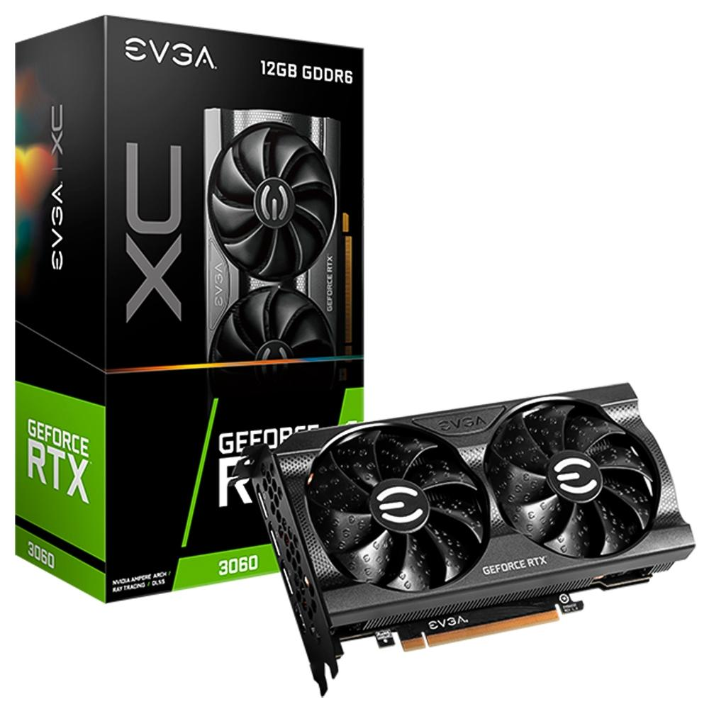 PLACA DE VIDEO EVGA RTX 3060 XC GAMING GDDR6 12GB  - Fatality