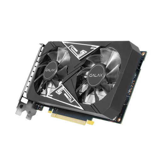 PLACA DE VIDEO GALAX GEFORCE GTX 1650 EX 1 CLICK OC 4GB - GDDR6 - 128 BITS - HDMI/DISPLAYPORT/DVI - 65SQL8DS66E6  - Fatality
