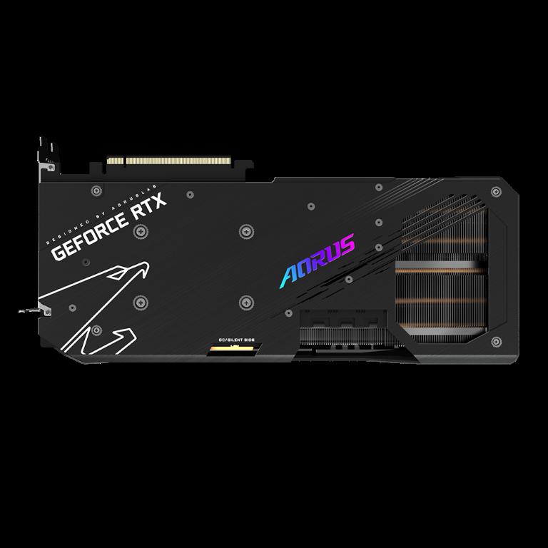 Placa de vídeo Geforce RTX  3070 Ti Aorus Master 8GB  - Fatality