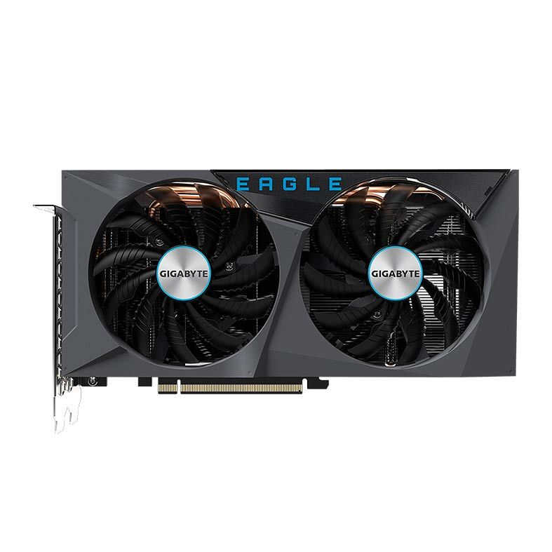 Placa De Vídeo Gigabyte Geforce Rtx 3060 Eagle 12gb Gddr6 RGB 2x fans - GV-N3060Eagle-12GD  - Fatality