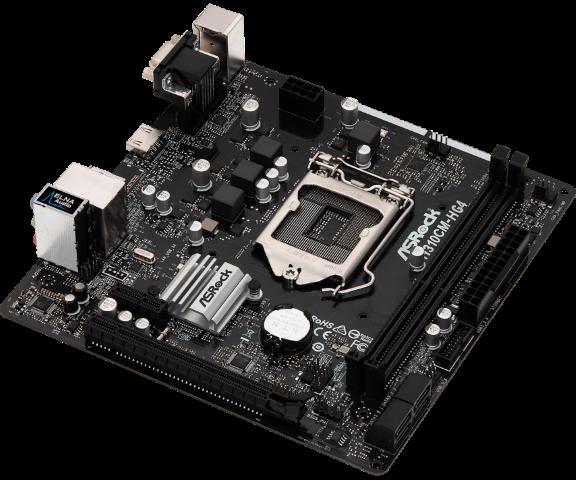 PLACA MAE ASROCK H310CM-HG4  DDR4  - Fatality