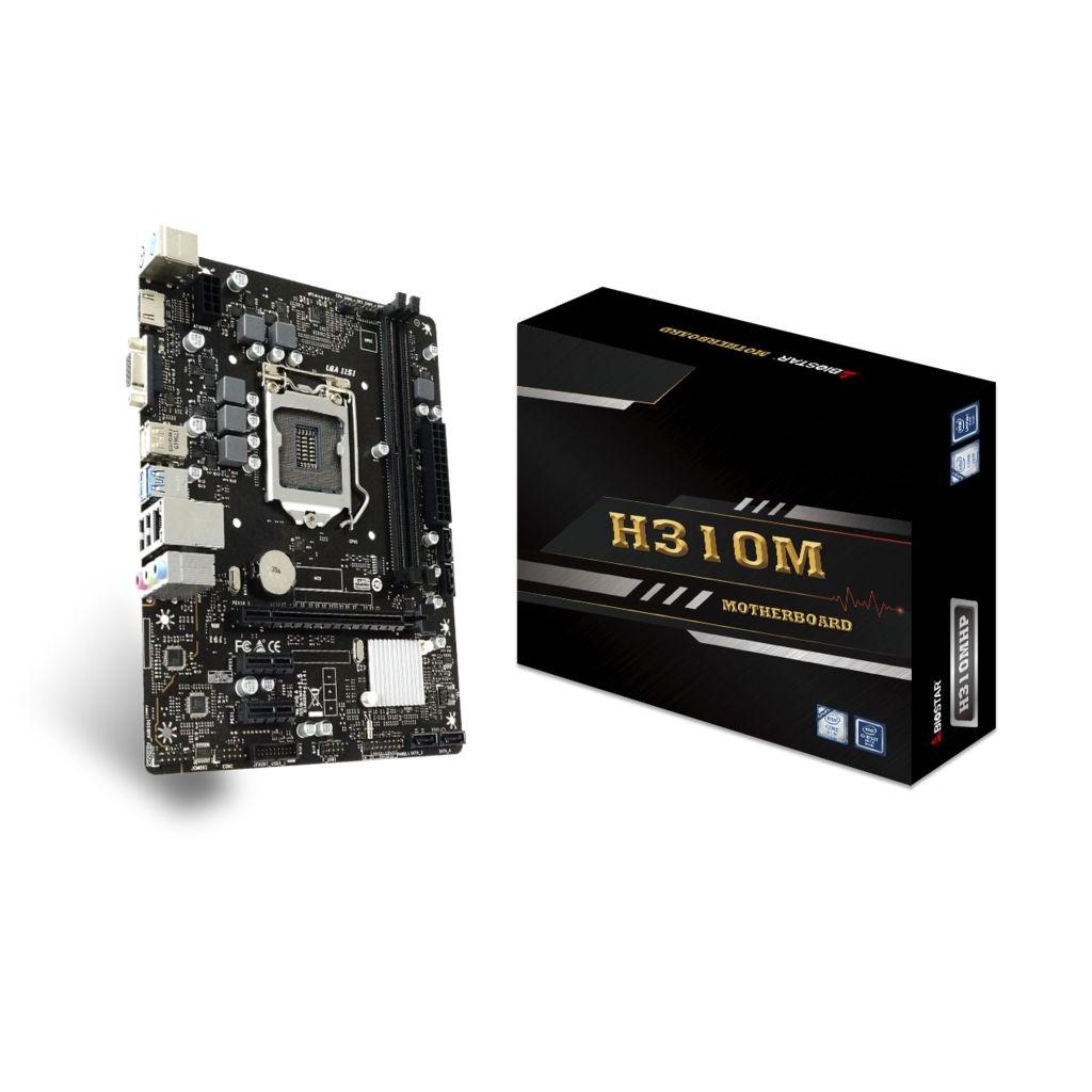 PLACA MAE BIOSTAR H310MHP DDR4 LGA 1151  - Fatality