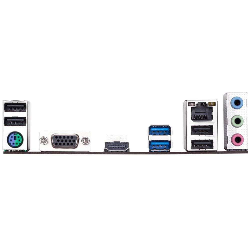 PLACA MÃE GIGABYTE  H310M M.2 2.0 (1151/DDR4/HDMI/D-Sub/M.2/USB3.1)  - Fatality