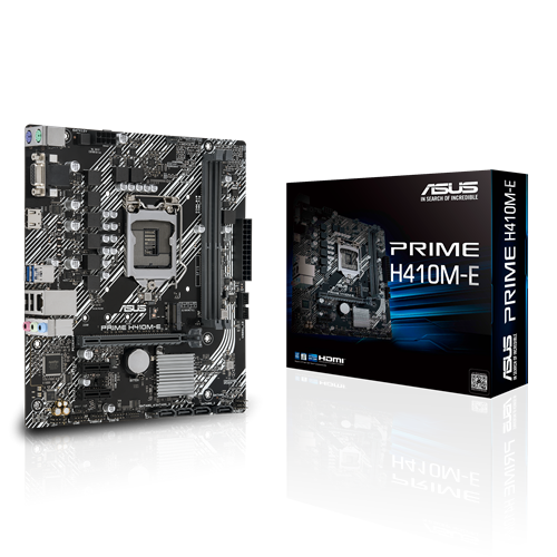 PLACA MAE INTEL ASUS H410ME DDR4 LGA 1200 10 GERACAO  - Fatality