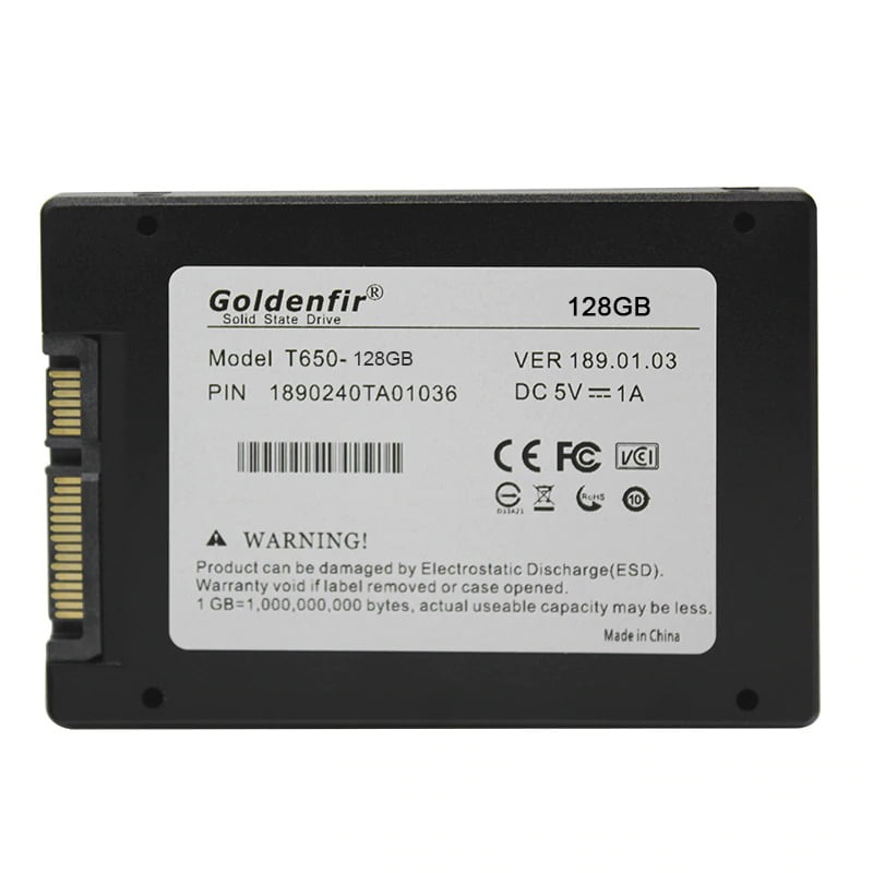 """Solid State Drive Goldenfir SSD 128GB 2.5""""SATA  - Fatality"""