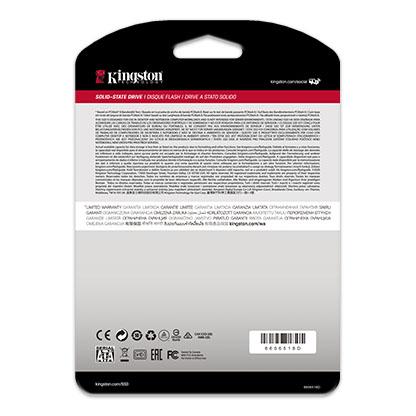 SSD KINGSTON 240GB A400 SATA3 2,5 7MM - SA400S37/240G  - Fatality