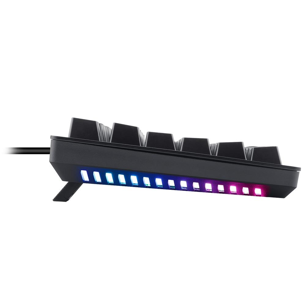 Teclado Mecânico Gamer T-Dagger Bermuda RGB Pto Abnt-2 Switch Vermelho T-TGK312-RD PT-RGB  - Fatality