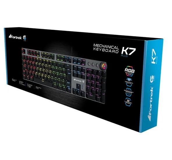 Teclado Mecânico Gamer Fortrek GPro K7 Plus Rgb - 67703 K7Plus  - Fatality