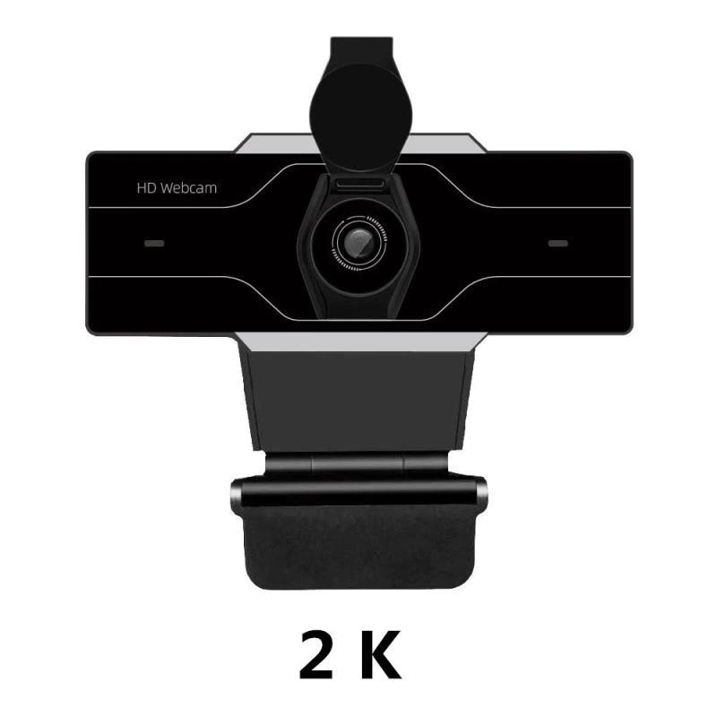 Webcam 2K 5mp Alta resolução 2560x1440p Foco automático  - Fatality