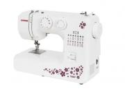Máquina De Costura Janome 1006p Portátil Branca E Roxo