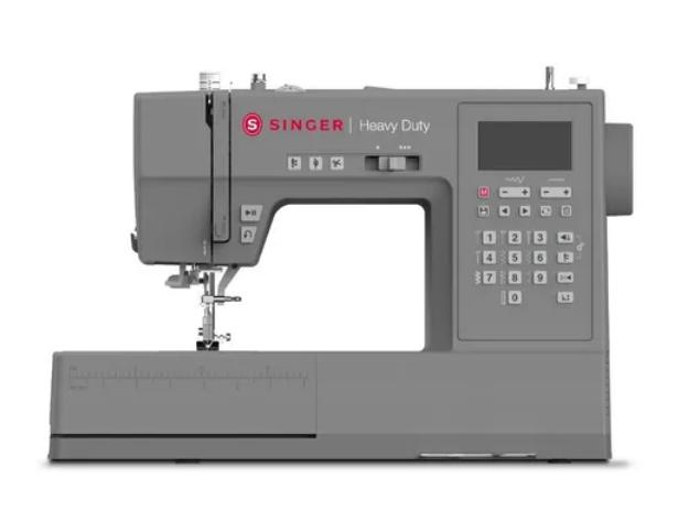 Maquina De Costura Computadorizada Heavy Duty Singer Hd6805