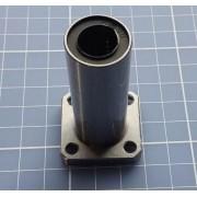 4 X Rolamento Linear Longo 12mm Com Flange Lmk12luu - Cnc 3d