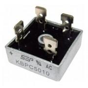 5 Xdiodo Ponte Retificadora Kbpc5010 50a 1000v Original