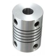 Acoplamento Flexivel 6,35mm * 8mm Nema 23 - Cnc - Router