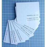 Cartão De Aproximiação Rfid 125khz Kit Com 100 Unidades!!!