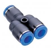 Conexão Pneumática União Emenda Em Y Ø 6mm Py6 - 4pcs