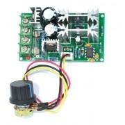 Controlador Pwm 20a 10v-60v Dc Controle Rotação Motor - Full