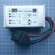 Controlador Pwm De Velocidade/direção Motor 9v Á 60v 20a