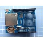 Data Logger Shield Para Arduino Com Leitor De Sd Card
