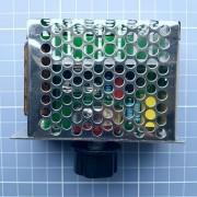 Dimmer 4000w Regulador De Tensão Elétrica Scr Ac 10-220v