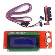 Display Lcd 2004 Leitor Sd Impressora 3d Reprap Ramps 1.4