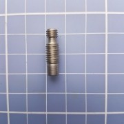Heatbreak E3d V6 Hotend Filamento 3mm Em Inox Com Teflon