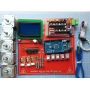 Kit Completo Eletrônica Impressora 3d Reprap 1.4 Lcd
