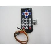 Kit Controle Remoto + Módulo Rx Tx Infra Vermelho Arduino
