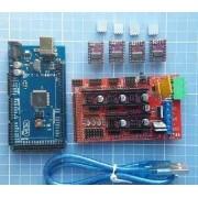Kit Mega 2560 + Ramps1.4 + 4x Drv8825 - 3d - Reprap