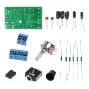 Kit Montagem Amplificador Estéreo Tda2822 Canais 2x1w
