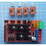Kit Ramps 1.4 + 4 Drivers A4988 - Reprap - Impressora 3d
