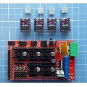 Kit Ramps 1.4 + 4 Drivers Drv8825 - Reprap - Impressora 3d