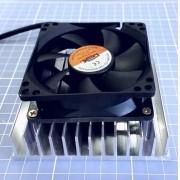 Kit Refrigeração 12v - 2 Dissipadores+2 Cooler + Acessorios