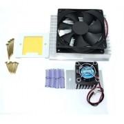 Kit Refrigeração 12v - Dissipadores + Coolers + Acessórios