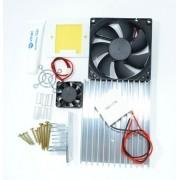 Kit Refrigeração 12v - Peltier 12706 + Acessorios