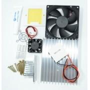 Kit Refrigeracao - 2x Peltier 12706 + Acessorios + Fonte 12v