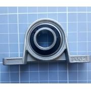 Mancal Kp004 Com Rolamento Para Eixo De 20mm