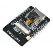 Módulo De Câmera Sem Fio Esp32 Cam Wifi Bluetooth Placa Ov264