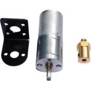 Motor Dc 12v Com Caixa De Redução + Suporte + Flange - Full