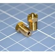 Nozzle Bico Para Hotend 3.00, Rosca M6 - E3d Impressora 3d