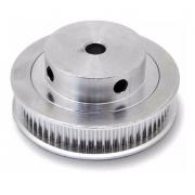 Polia Gt2 Passo 2mm 60 Dentes Alumínio - Correia 6mm