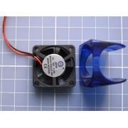 Suporte Com Cooler 30x30x10 P/ Hotend - 3d Prusa Mendel